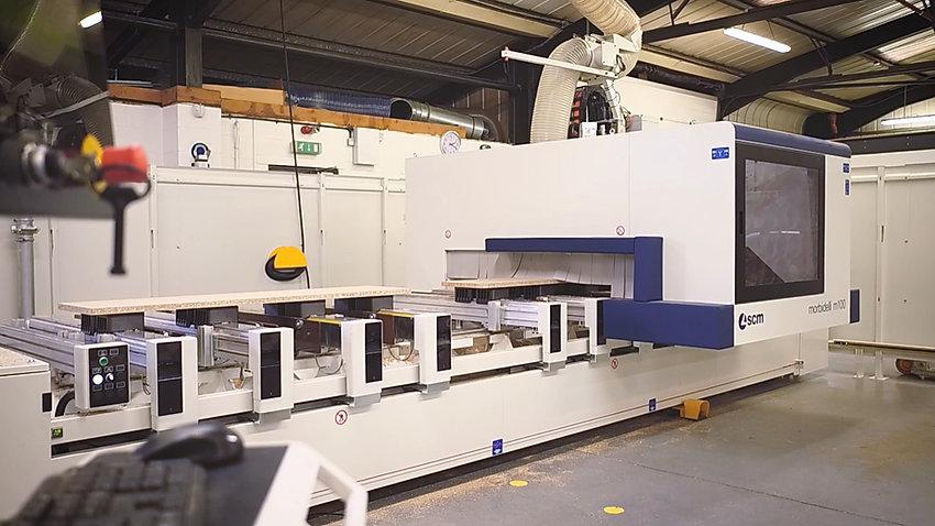New Morbidelli CNC Delivered