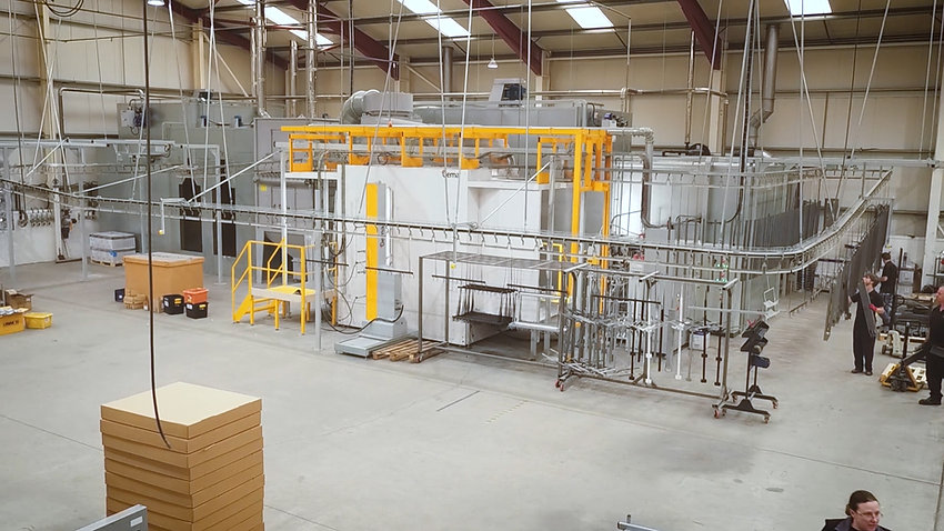 2nd Powder Plant Commissioned