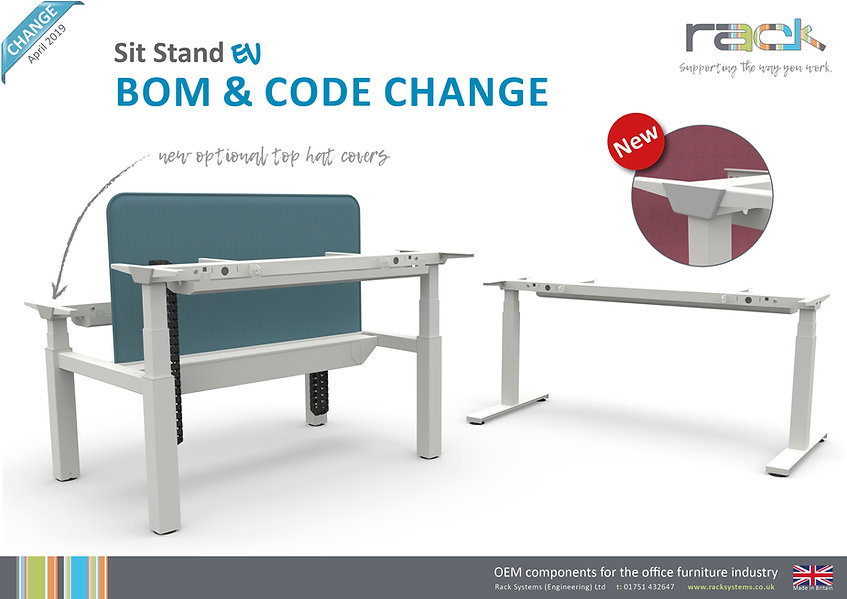 Sit Stand EV - Bom and Code Change