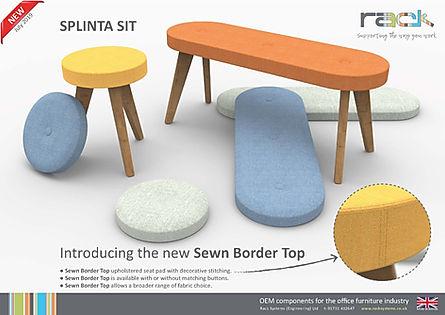 New! Sewn Border Top