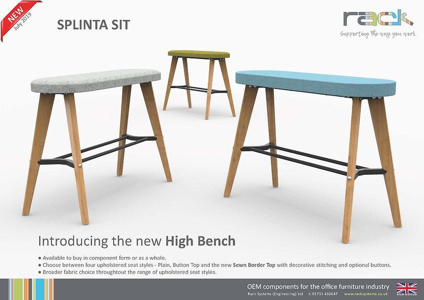New! Splinta Sit High Bench