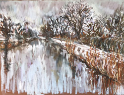 Kerry Nowak - Lingering on Snowy Banks
