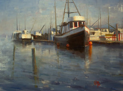 Devin Roberts - Early Morning on the Fishing Docks