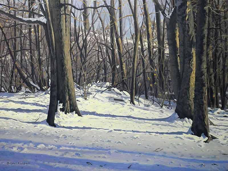 Daniel Fishback - Snowy Afternoon
