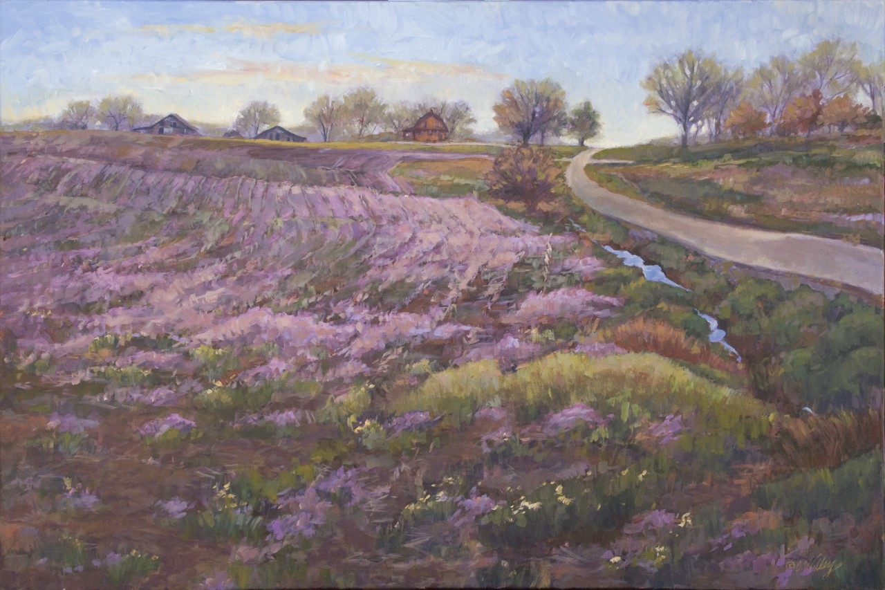 Chris Willey - Red On Purple