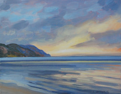Cathy Lachance - Sunrise Over the River