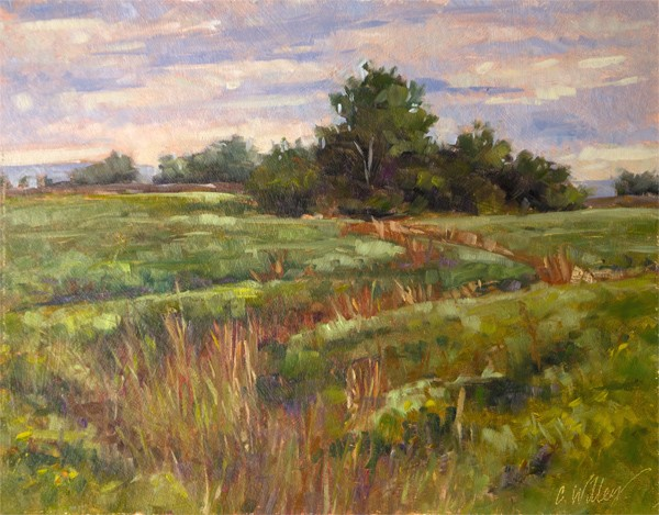 Chris Willey - Fall Swale