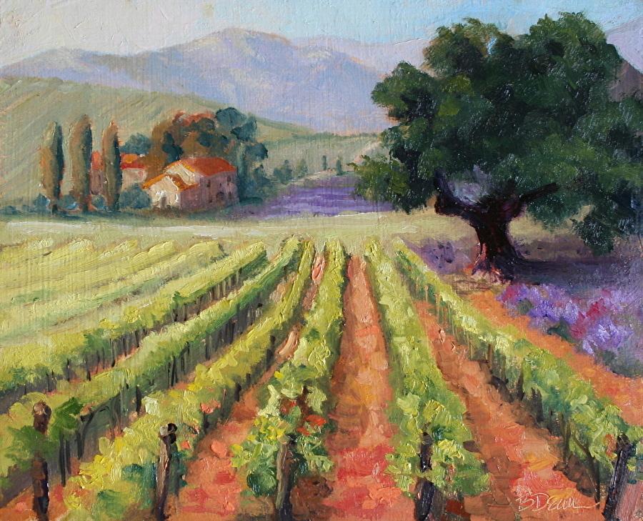 Beth Dean - Morning Vineyard