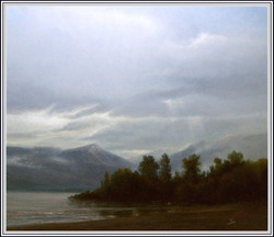 Alex Perez - Sky over Villarrica lake (Southern area of Chile)