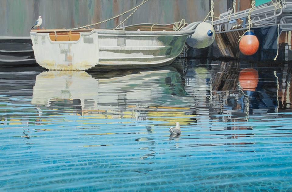 Freda Surgenor - Working Harbour