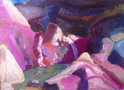 Georgie Rey - Waterfall at 7 Cascades