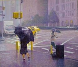 Richard Rosenblatt - Park Avenue Downpour
