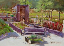 Kathie Odom - Fenced-In Lavender