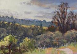 Clark Mitchell - Ragle Ranch (pastel)