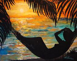 Alan Lakin - Sunset Silhouette