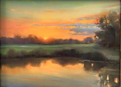Olena Babak - Sunset, Easton