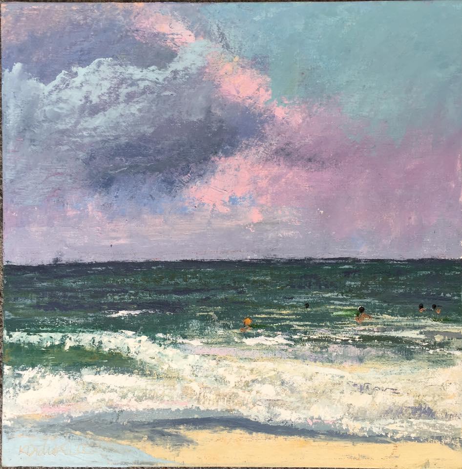 Kayti Didriksen - Sunset Surfers