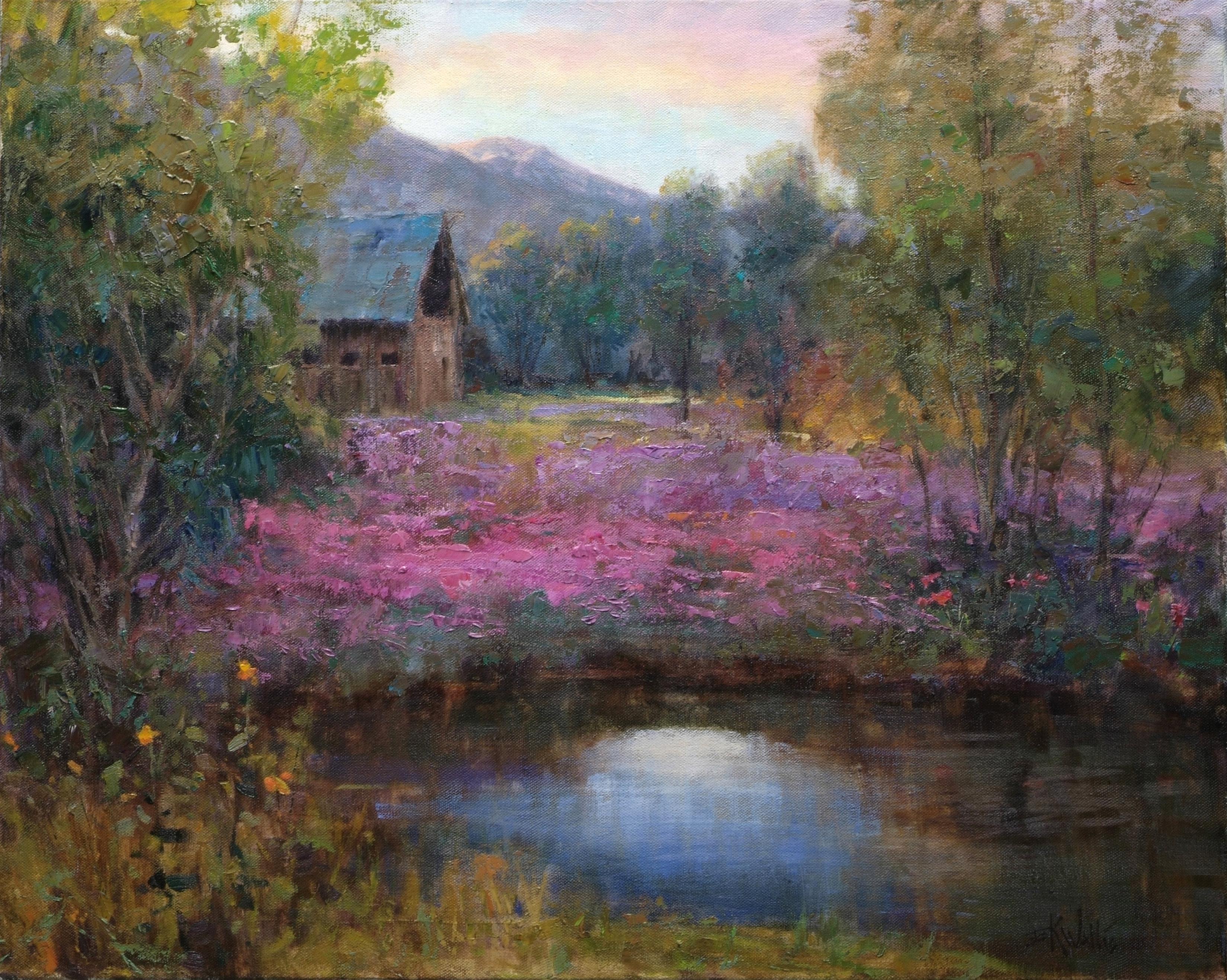 Eric Wallis - Morning Blossoms