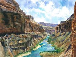 Barb Capeletti - Grand Canyon River View