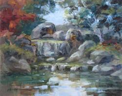 Nellie Gill - Waterfall, San Antonio Botanical Gardens