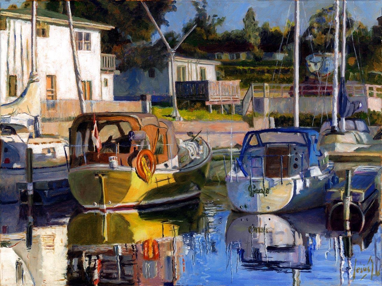 Jesus Estevez - Genie and the Yellow Boat
