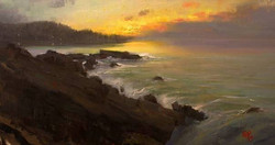 Devin Roberts - Sunset Along The Upper Coast