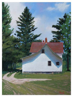 Louise Pond - The Old Farmhouse