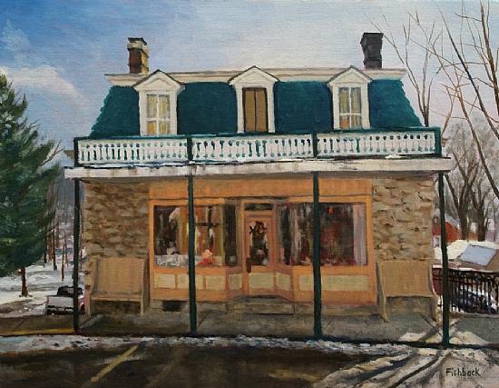 Daniel Fishback - Old Keller Store in Elsah Illinois