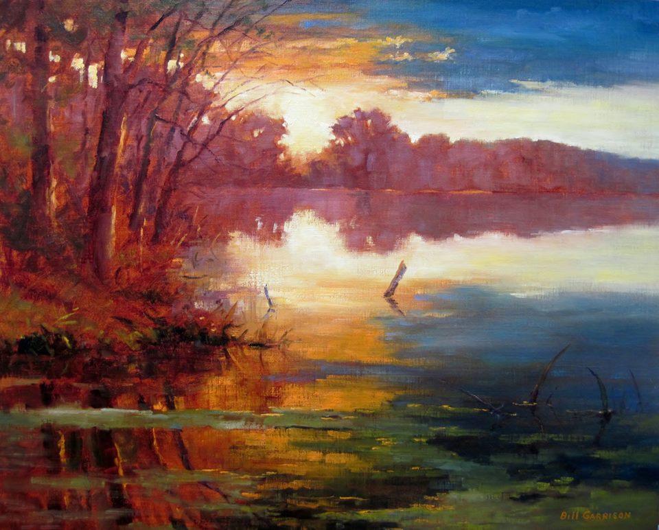 Bill Garrison - Sunset at City Lake.jpg