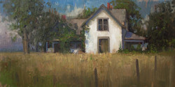 Devin Roberts - Beauty in the Abandoned (plein air)