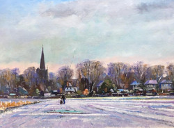 Mike Samson - Snow at Wingham