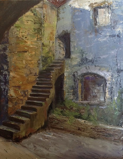 Nickie Barbee - The Monastery Steps