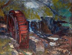 Lisa Blackshear - Waterwheel at Lake Louise