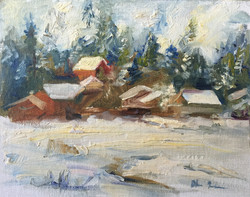 Oksana Johnson - Squaw Valley Winter