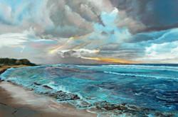 Dolores Saul - Evening Surf
