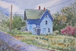 Dee Burdick - Blue House In Maine