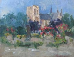 Oksana Johnson - Rose Garden by Notre Dame