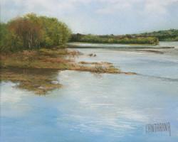 Laurent Chantraine - No. 273 - The Loire at Champtoceaux