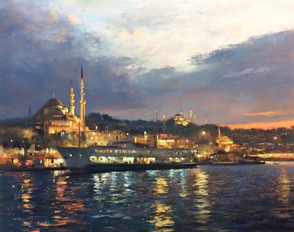 Javad Soleimanpour - Sunset in Istanbul
