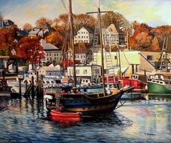 Eileen Patten Oliver - Liana's Ransom in Gloucester Harbor