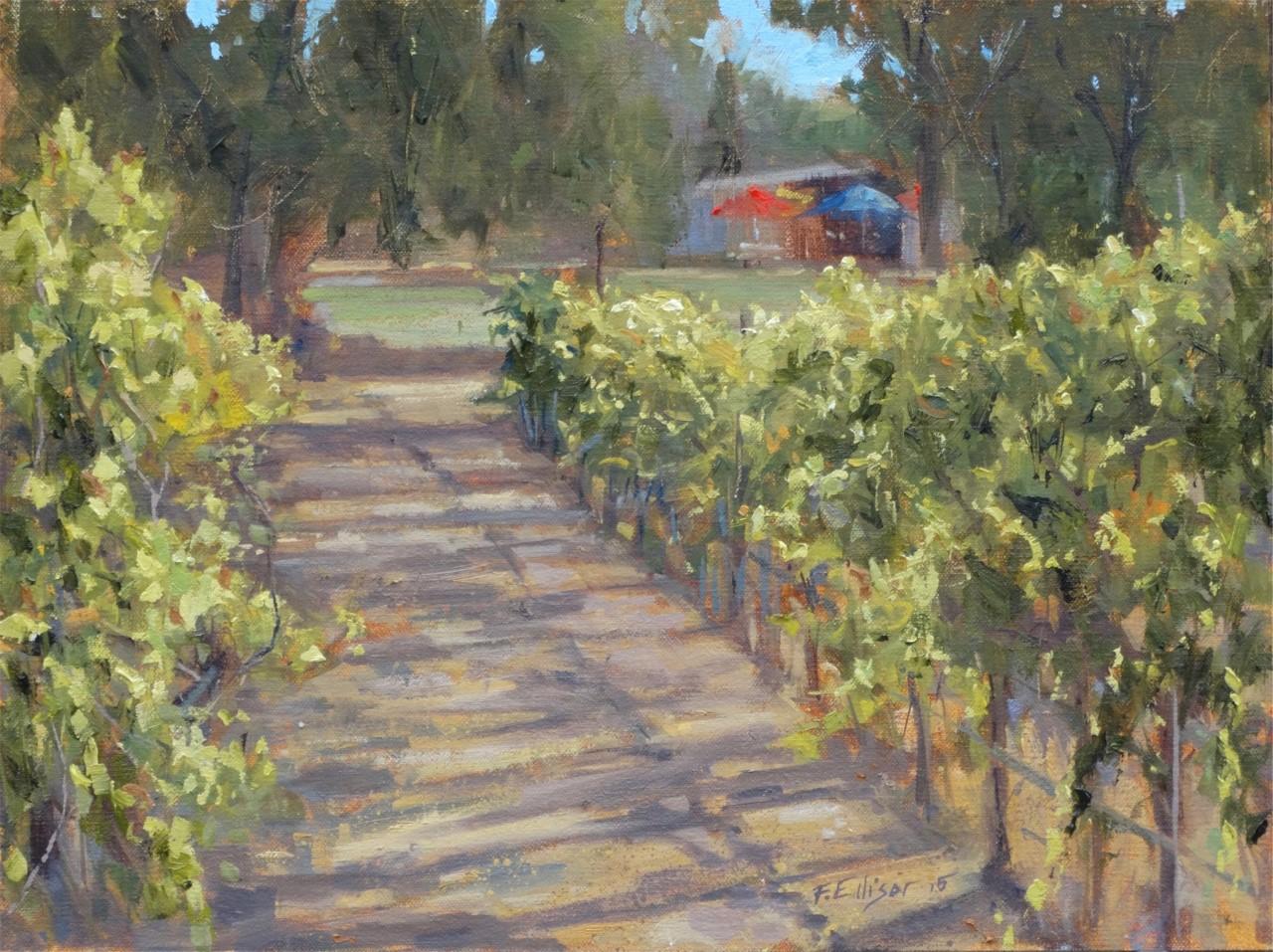 Fran Ellisor - Morning Walk in the Vinyard