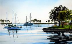 John Bayalis - St. Petersburg sailboats