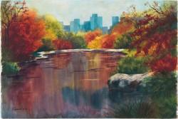 Barb Capeletti - Fall in Central Park