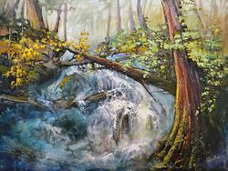 Linda Wilder - Rainforest Cascade
