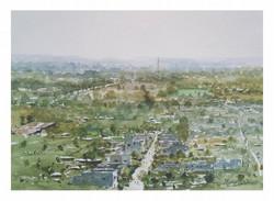 Nikhil Giri - My City (plein air)