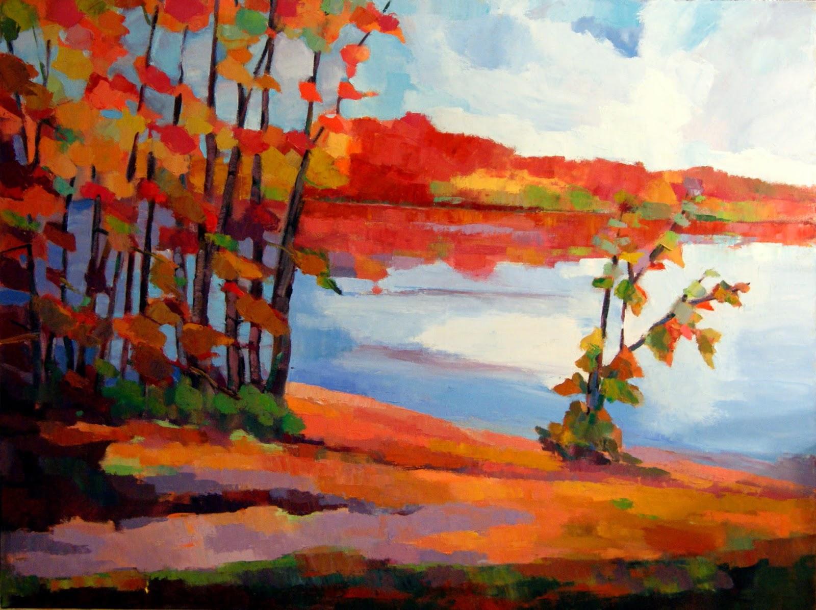 Abbas Darabi - Howard Prairie Lake in Fall
