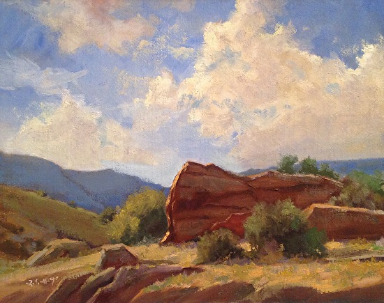 Richard E. Gallego - Sandstone Sentinel