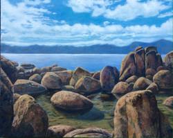 John Nichols - Tahoe on the Rocks