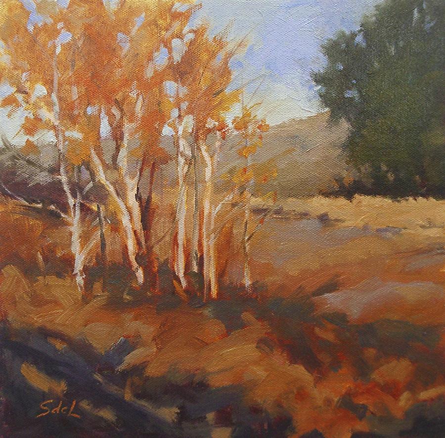 Suzanne deLesseps - Autumn Dance (oil)