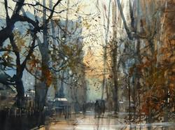 Michał Jasiewicz - Autumn City Park